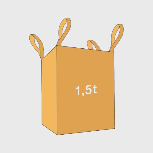 big bag pojemność 1,5t